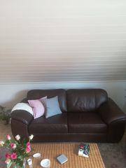 Couchgarnitur mit Sofa und Sessel