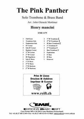 Sonstiges, Noten, Midi - Noten Brass-Band Soloinstrument The Pink