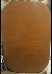 grosse Holztischplatte zu verschenken