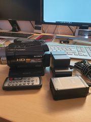 Sony HDR-SR7 Full HD-Camcorder Festplatte