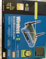 Linksys WRT54GL-DE Broadband Drahtlos Router
