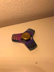 Fidget Spinner Metall Rainbow