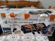 Raclette und Steingrill und Hot