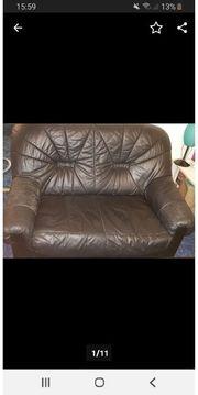 Couchgarnitur und Tisch auch einzeln