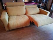 2 sitzer Couch elektrisch verstellbar