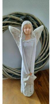 NEU Gross Deko Engel Figur