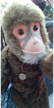 Affenkind Puppe HERNANN Teddy