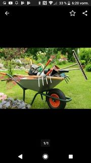 lch suche Garten Arbeit putzen