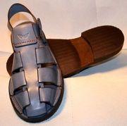 Schuhe Sandale Herren Echtes Leder