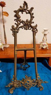 Antik Tischstaffelei Bilderständer Jugendstil 55cm