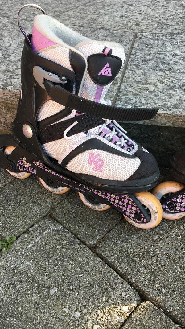Mädchen Rollerblades K2