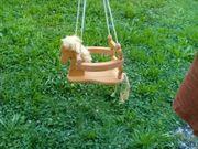 Kinderschaukel Kleinkinder Holz Pferd tierfreier