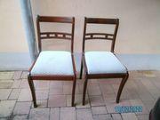 2 Stühle mit Polster
