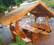 Gartenmöbel der besonderen Art Rustikal-Massiv