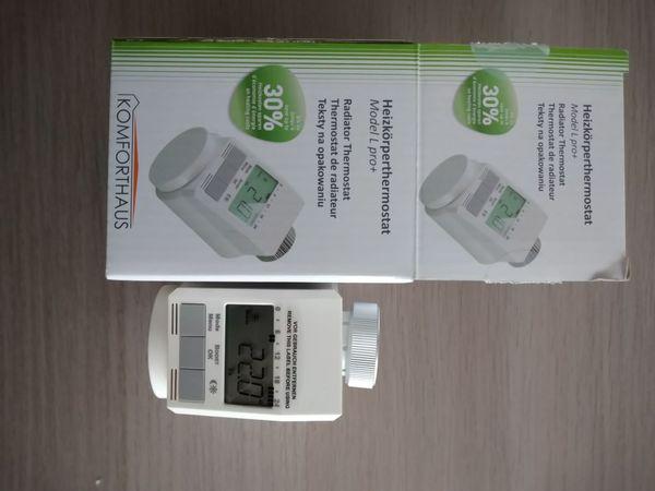 HeizkörperThermostat elektrisch Batterie