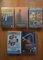 5 VHS-Videokassetten zu verkaufen Ideal