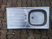Edelstahl Küchenspüle 86 x 44