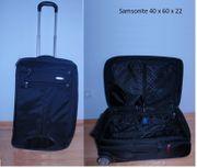 SAMSONITE Koffer Stoff schwarz 40
