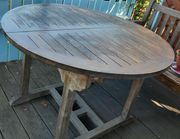 Gartentisch rund 110 cm Durchmesser