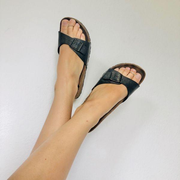abgeranzte Lieblings-Sandalen - extra für dich