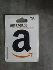 50 - Amazon Gutschein
