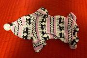 Flauschiger super süßer Hundepullover für