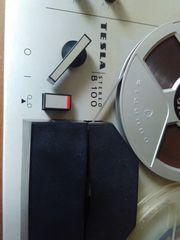 Tonbandgerät B100 TESLA Stereo-Funktionsfähiger Zustand