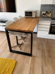 Massivholz-Tisch Eiche Natur geölt inkl
