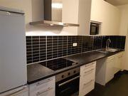 Moderne hochwertige Einbauküche inklusive Elektrogeräte