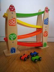 Auto Kugelbahn aus Holz Baby