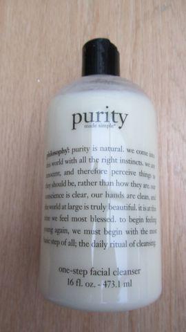 Gesichtsreinigung purity der Marke philosophy