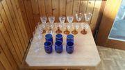 Gläser für Flohmarkt