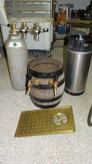 Schankanlage für Bier und Most