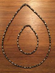 Halskette und Armband für Männer