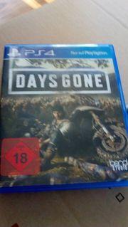PS 4 days gone Neuwertig