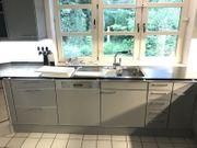 Küche Komplett SIEMATIC Esch Grau-Chrom