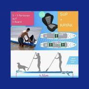 Tandem-SUP-Board für 2-4 Personen zur