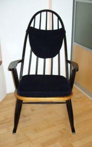 Schaukelstuhl rocking chair Pastoe 50er