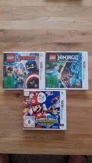 Sechs Spiele für Nintendo 3DS