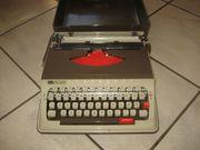 Reiseschreibmaschine Kofferschreibmaschine Schreibmaschine Elite RS