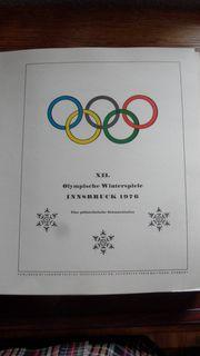 Philatelistische Dokumentation der XII Olympische