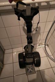 Golftrolley schwarz verstellbar
