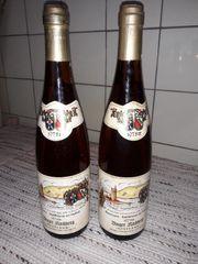 Wein Binger Kirchberg Spätlese 1975er