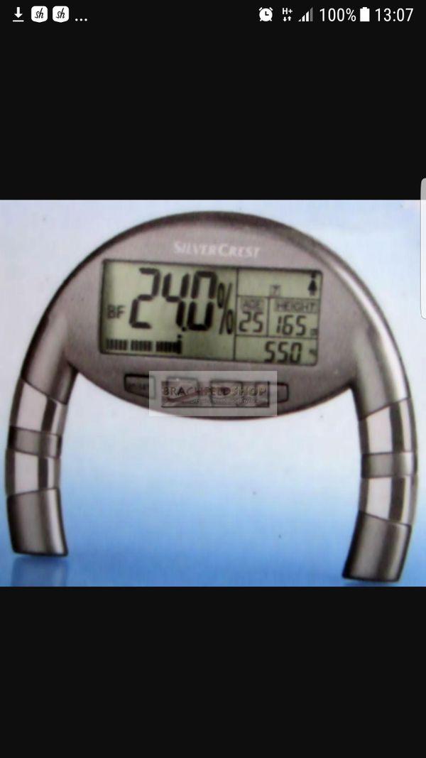 Körperfett Messgerät NEU Fettmessgerät