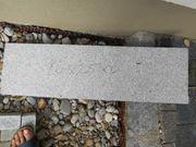 Granit Kantenstein Randstein Leistenstein grau