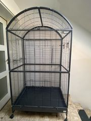 Großer Vogel Papageien Käfig