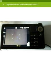 Ricoh Digitalkamera mit Videofunktion CX3