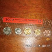 DM Kursmünzen 1979 D Stempelglanz