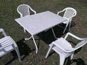 Gartentisch Rund oder viereckig mit