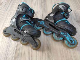 Skaten, Rollen - Inline-Skates K2 Velocity JR Größe